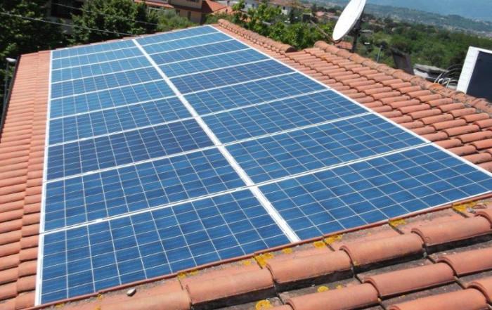 Impianto fotovoltaico a Montopoli (Pisa)