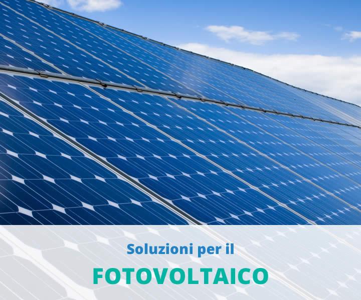 Soluzioni per il fotovoltaico